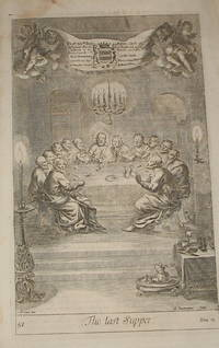 [Biblical Engraving; Gospel of John]: The Last Supper