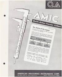 AMIC Quick-Action Vernier Caliper