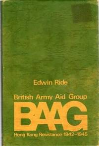BAAG Hong Kong Resistance 1942-1945.
