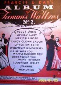 Francis & Day's Album of Famous Waltzes No. 2 by Various