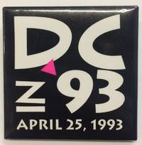 image of DC in 93 / April 25, 1993 [pinback button]