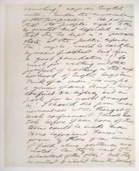 Autograph manuscript, Unsigned