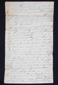 image of Handwritten Deed for part of Lot #12 in the Second Division of Sedgwick, Hancock County, Maine