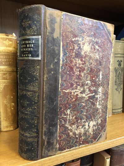 London: Richard Bentley, 1861. First Edition. Hardcover. Octavo, 631 pages; G+; three-quarter dark c...