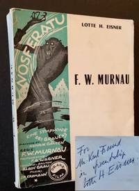 F.W. Murnau by Lotte H. Eisner - Paperback - Signed First Edition - 1964 - from Appledore Books, ABAA (SKU: 17880)