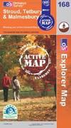 image of Stroud, Tetbury and Malmesbury (OS Explorer Map Active)