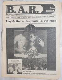image of B.A.R. Bay Area Reporter: vol. 6,  #24, November 24, 1976; Gay Action - Responds to Violence; A Star is Born cover