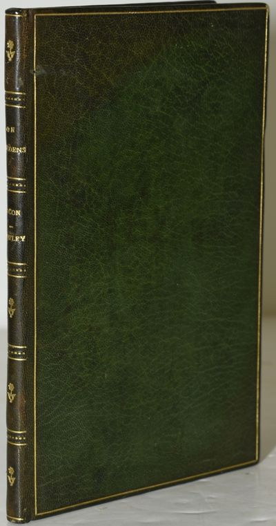 Guildford: A. C. Curtis, The Astolat Press, 1903. Full Leather. Very Good binding. Title leaf printe...