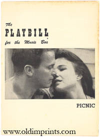 The Playbill for the Music Box. Picnic