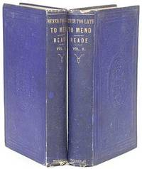 Boston: Ticknor and Fields, 1856. Hardcover. Very Good. First American edition. Two volumes. Contemp...
