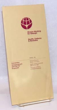 Women Working for Change: Health, Cultures & Societies [brochure]