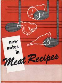 image of 1958 New Notes in Meat Recipes from National Live Stock and Meat Board