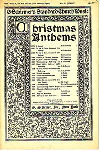 Christmas Hymn (From the 17th Century), No. 2532 - Christmas Anthems