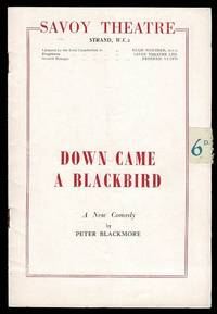image of Down Came a Blackbird by Peter Blackmore: Savoy Theatre Programme