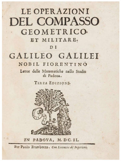 GALILEO'S SECTOR: THE FIRST CALCULATOR