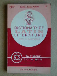 Dictionary of Latin Literature