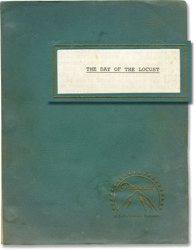 Los Angeles: Paramount Pictures, 1973. Draft script for the 1975 film. Based on the the 1939 novel b...