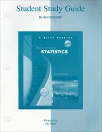 image of Elementary Statistics: A Step by Step Approach (Student Study Guide)