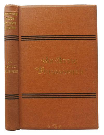 New York: D. Appleton & Co, 1884. Orange cloth stamped in black & gilt lettered. Floral patterened e...