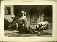 Prayer in a Turkish Mosque. From a Drawing by Benjamin Constant
