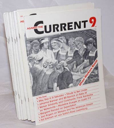 Detroit: Center for Change, 1989. Magazine. 8 early issues of the bi-monthly magazine, a complete ru...