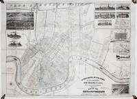 The World's Industrial And Cotton Centennial Exposition, New Orleans, LA., U. S. A. Department of Installation. Plan No. 2 Map of the City of New Orleans