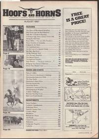 image of Hoofs and Horns Magazine August 1987
