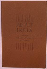 About India.  Part of a Novel with Drawings
