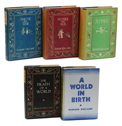 New York: Henry Holt and Company, 1934. First American Edition. Very Good+. Complete in five volumes...