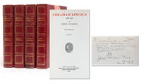 Abraham Lincoln, 1809-1858 (Manuscript Edition in 4 vols)