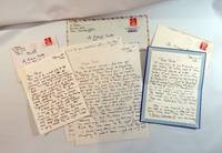 Three autograph letters to Richard Reilly