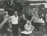 image of Two original photographs of Frank Sinatra backstage, circa 1960s
