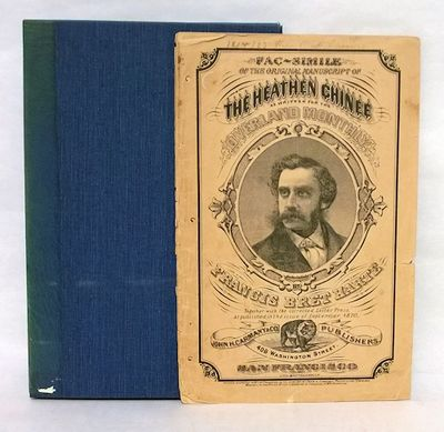 San Francisco: J.H. Carmany & Co., 1871. pp. Large octavo. Pictorial wrapper. First edition in this ...