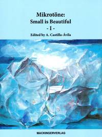 image of Mikrotone: Small is Beautiful - Volume I [MICROTONAL MUSIC JOURNAL]