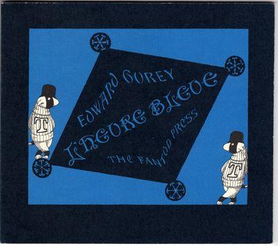 New York: Gotham Book Mart, 1975. First Edition. Wraps. Fine. Edward Gorey. This being #440/500 limi...