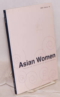 Asian women; a biannual journal: Winter 2004 volume 19