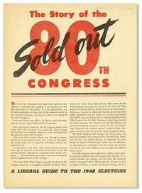 The Story of the Sold Out 80th Congress [drop title]