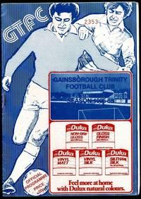 Gainsborough Trinity Football Club: Matlock Town Programme