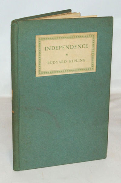 Garden City, NY: Doubleday, Page & Company, 1924. Early reprint. Very good+ in light green paper cov...