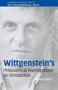 Wittgenstein's Philosophical Investigations: An Introduction (Cambridge Introductions to Key...