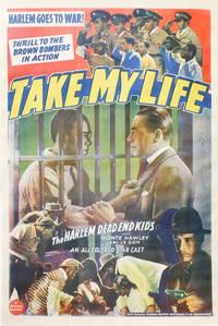 Take My Life - Original One-Sheet Poster