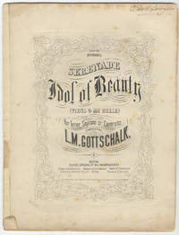 [D-70]. Serenade Idol of Beauty (Viens o ma belle) for Tenor, Soprano or Contralto
