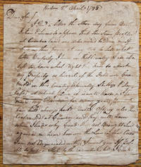 Autograph Letter Signed, Holston [Tennessee] April 2, 1788 to Col. Hayes, Cumberland