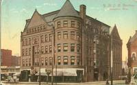 YMCA Building, Springfield, Mass 1912 used Postcard