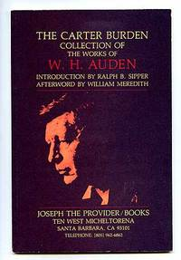 The Carter Burden Collection of the Works of W.H. Auden