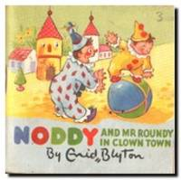 Noddy And Mr Roundy In Clown - Town