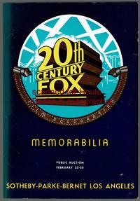 20TH CENTURY FOX MEMORABILIA