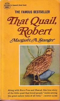image of That Quail, Robert