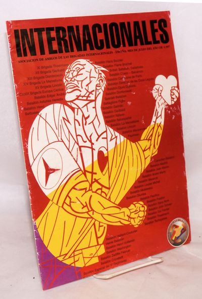 Madrid: the Asociacion, 1997. 20p. magazine, illus., devoted to the reunion of the Brigades, 9.5x12....