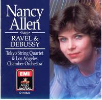 image of Nancy Allen [harp]: The Music of Debussy and Ravel [COMPACT DISC]